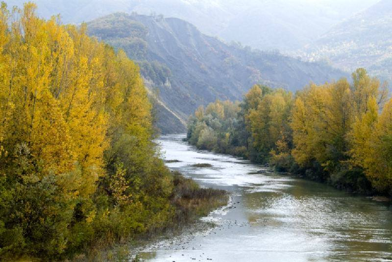 Trekking alla Golena del fiume Reno
